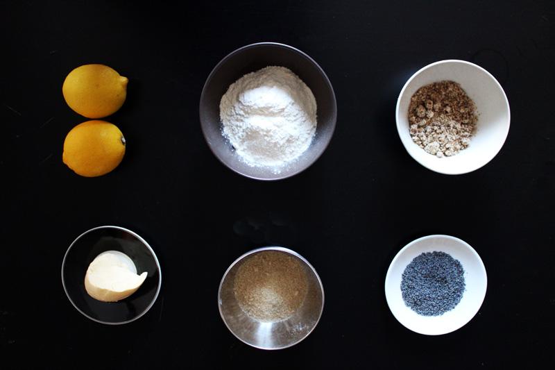 sablé pavot citron noisette