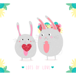 Carte Lots of Love