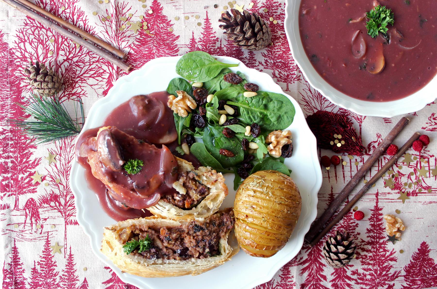 Mes idées recettes pour votre repas de Noël vegan